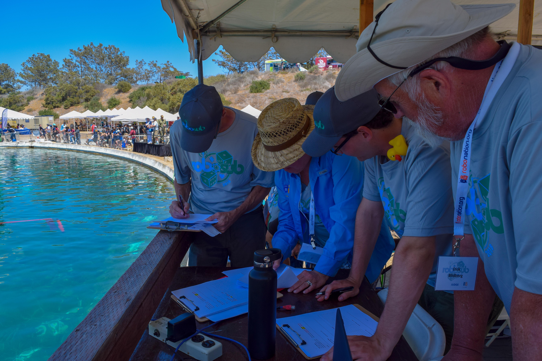 judges reviewing scores