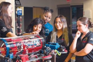 Fighting stereotypes ASU Robotics Team shows women can excel in stem fields