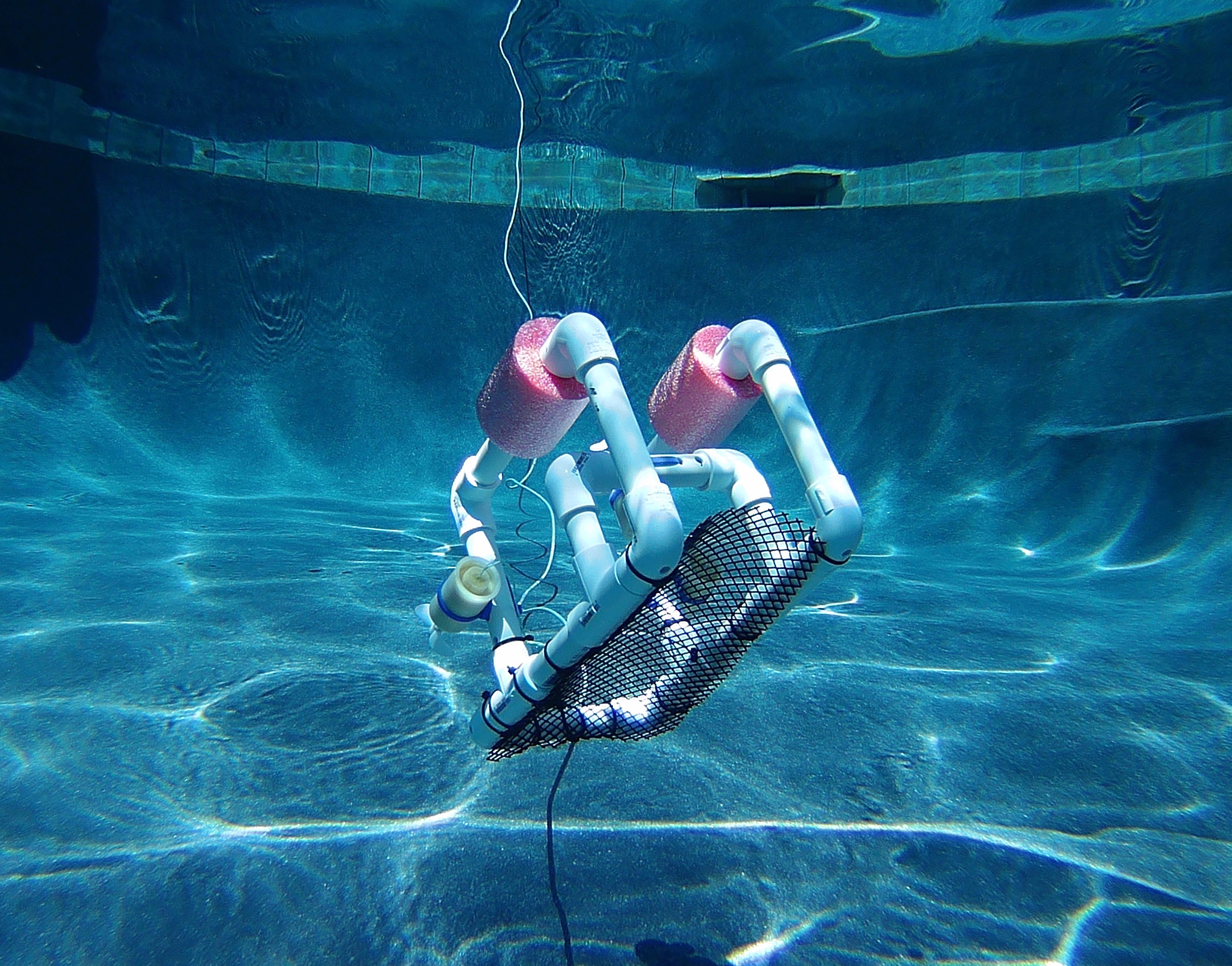 SeaPerch underwater