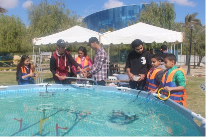 SeaPerch North Africa Activities at the Cairo Maker Faire