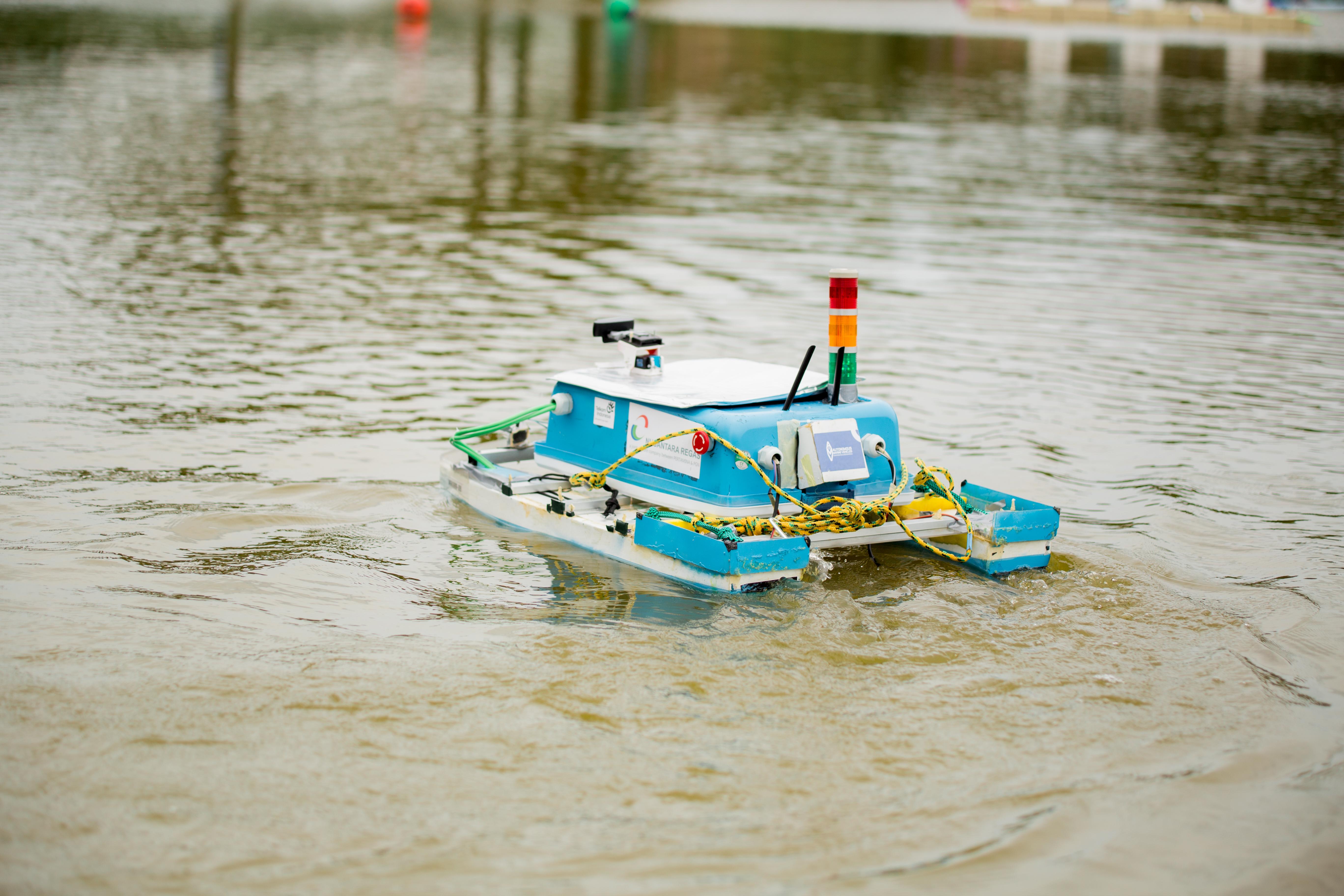 2019 RoboBoat | Institute Teknologi Sepuluh Nopember ASV